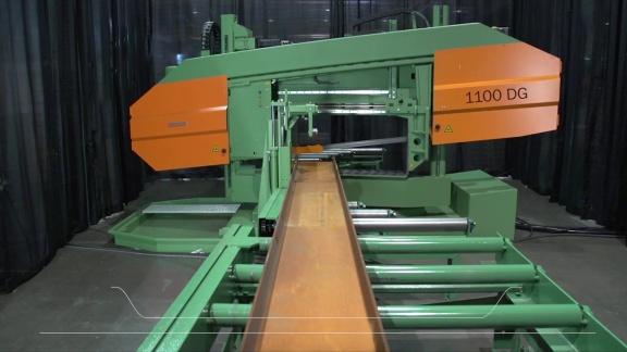Scie à ruban DG-1100 - Scie pour coupe droite et d