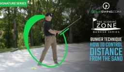 Bunker Technique: How to Control Distance from the Sand