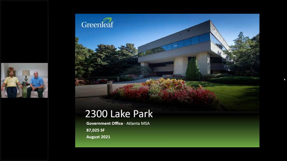 Investment Video - Government Office Atlanta MSA - 2300 Lake Park