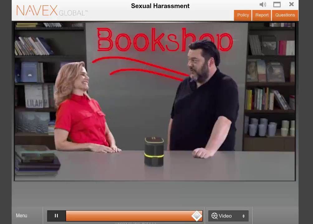 It training manager responsibility sexual harassment