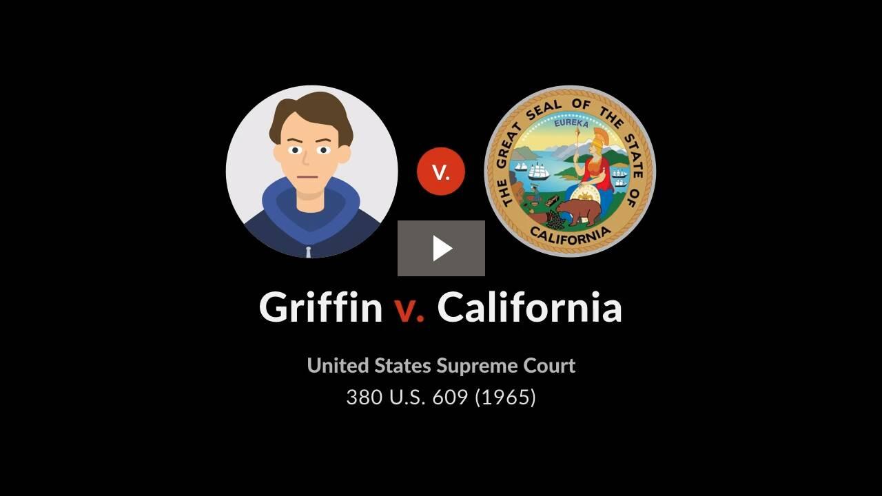 Griffin v. California