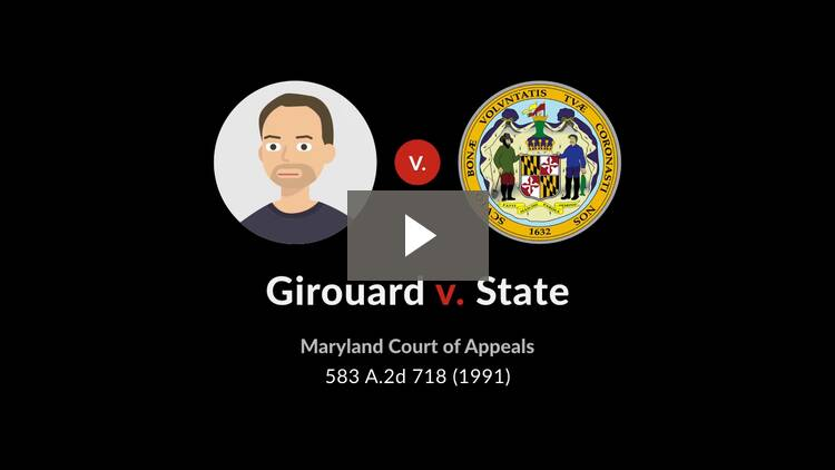 Girouard v. State