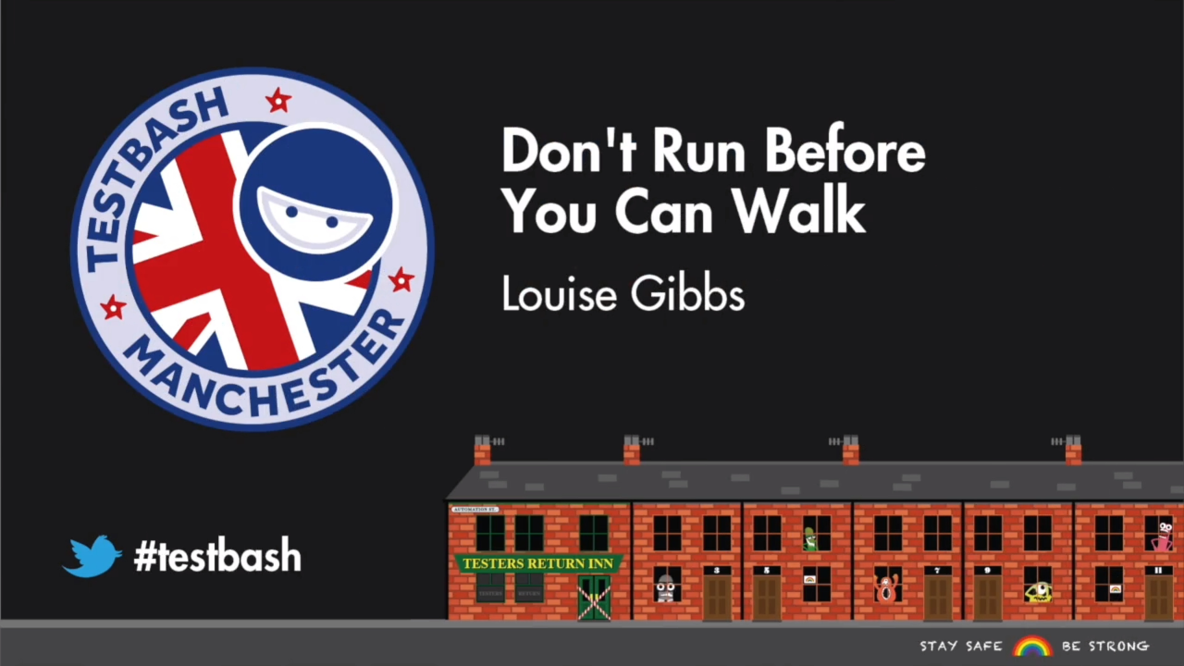 Don't Run Before You Can Walk - Louise Gibbs