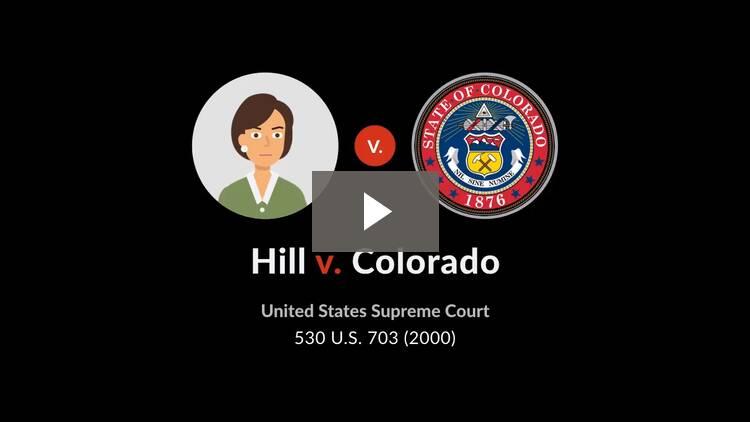 Hill v. Colorado