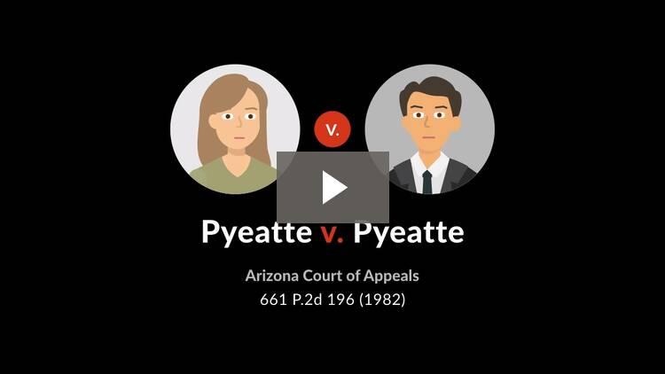 Pyeatte v. Pyeatte