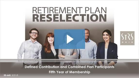 Thumbnail for the 'Retirement Plan Reselection' video.