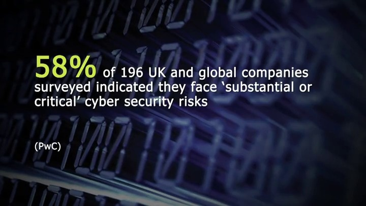 Still image from 'Cyber-crime: what companies need to be aware of' video