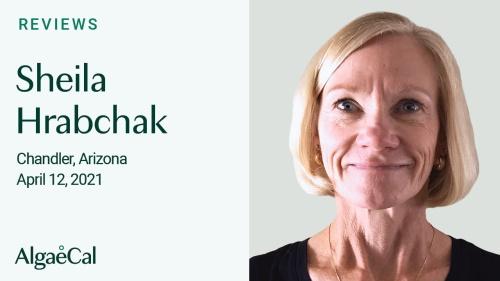 Testimonial thumbnail portrait of Sheila Hrabchak