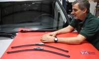 Wiper Blade Replacement On LR3, LR4 Or Range Rover Sport video screen shot