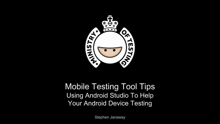 Using Android Studio To Help Your Android Device Testing