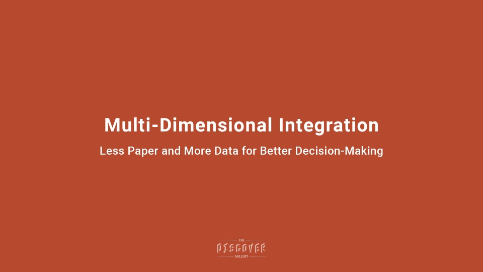 Multi-Dimensional Integration