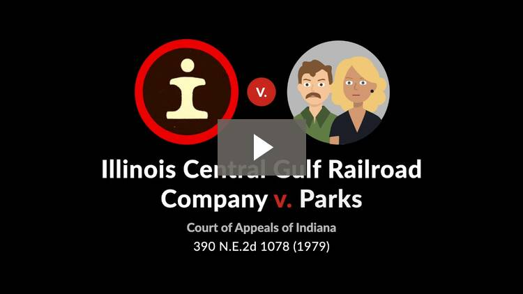 Illinois Central Gulf Railroad v. Parks