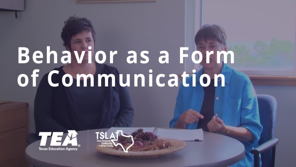 Behavior as a Form of Communication