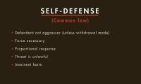 Self-Defense thumbnail