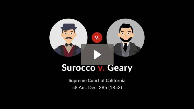 Surocco v. Geary