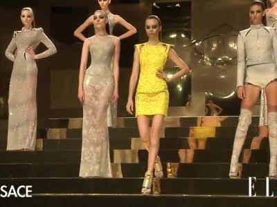 Versace haute couture 2012: lekker dramatisch en ssssexy!