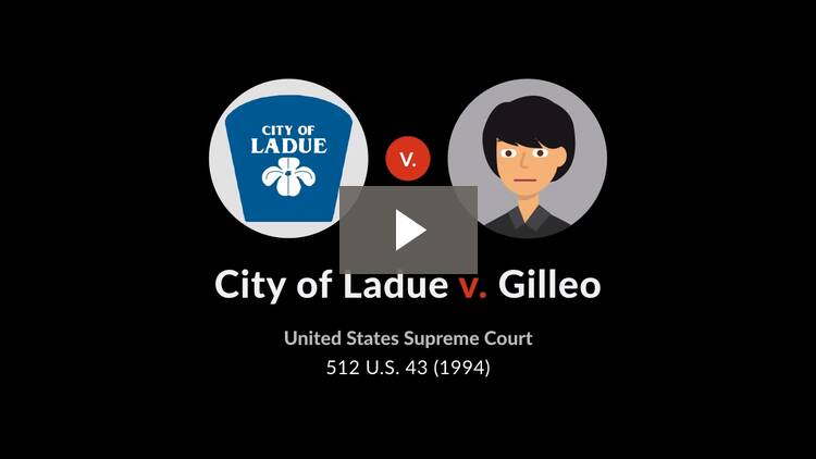 City of Ladue v. Gilleo