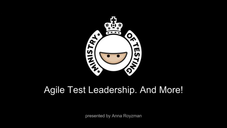 Agile Test Leadership and More! with Anna Royzman