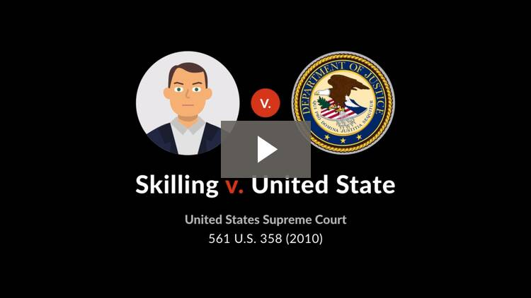 Skilling v. United States