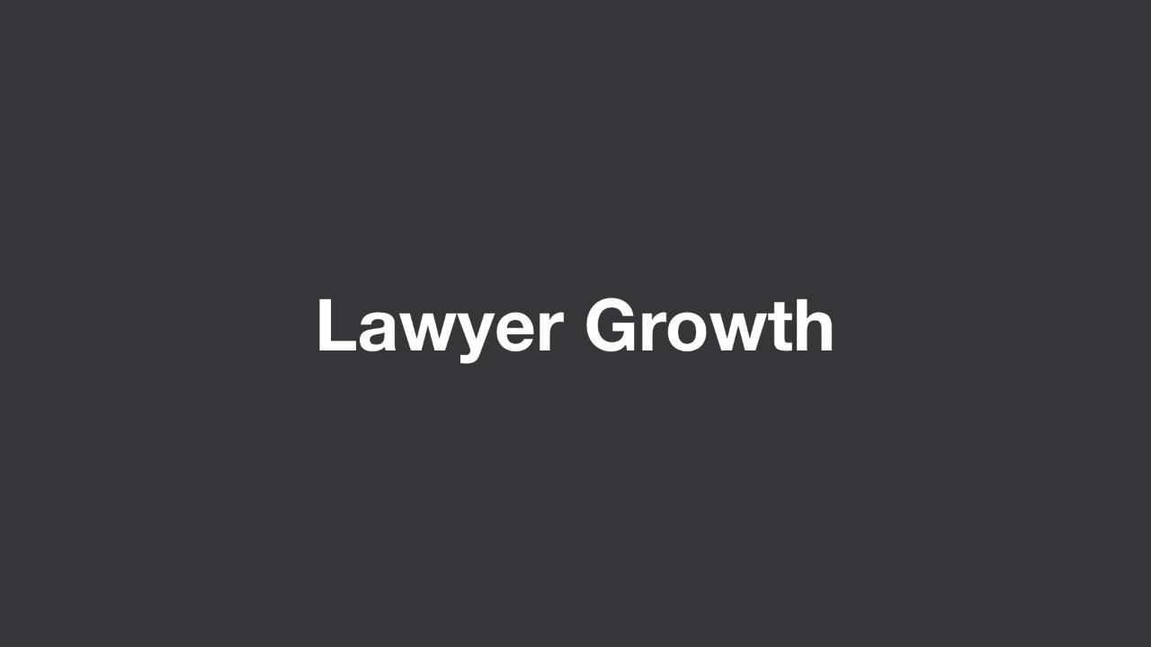 Leverage, Lawyer Growth, and Expense Control thumbnail