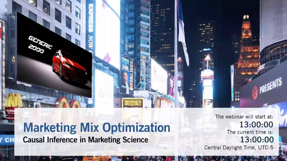 Marketing Mix Modeling and Optimization with Bayesian Networks