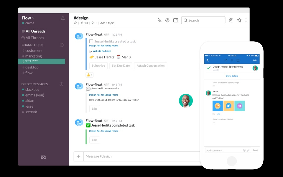 Say Hello to Flow for Slack