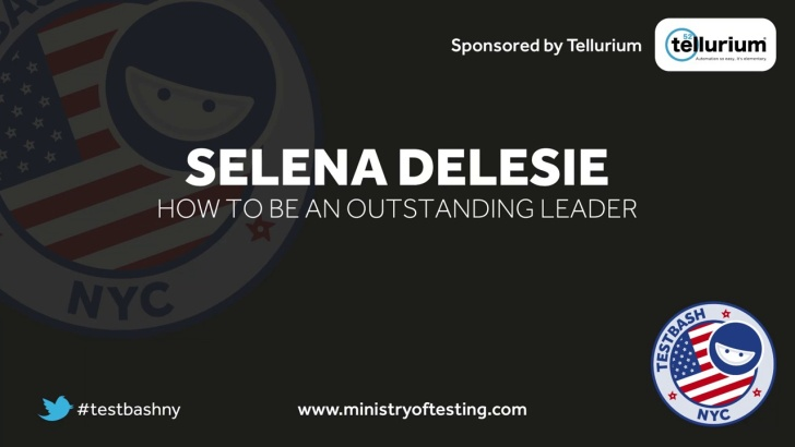 How to Be an Outstanding Leader – Selena Delesie