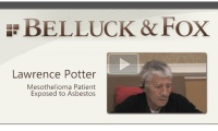 Mesothelioma Patient Lawrence Potter
