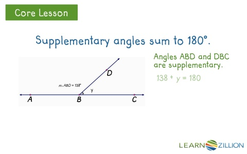 Lesson 18 Problem Solving With Angles Ready Common Core