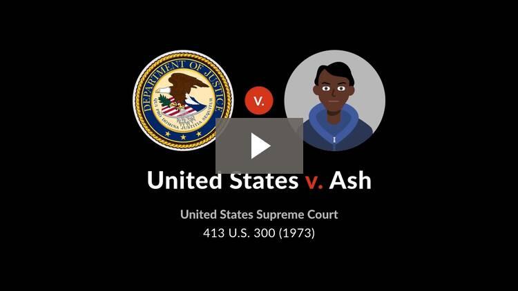 United States v. Ash