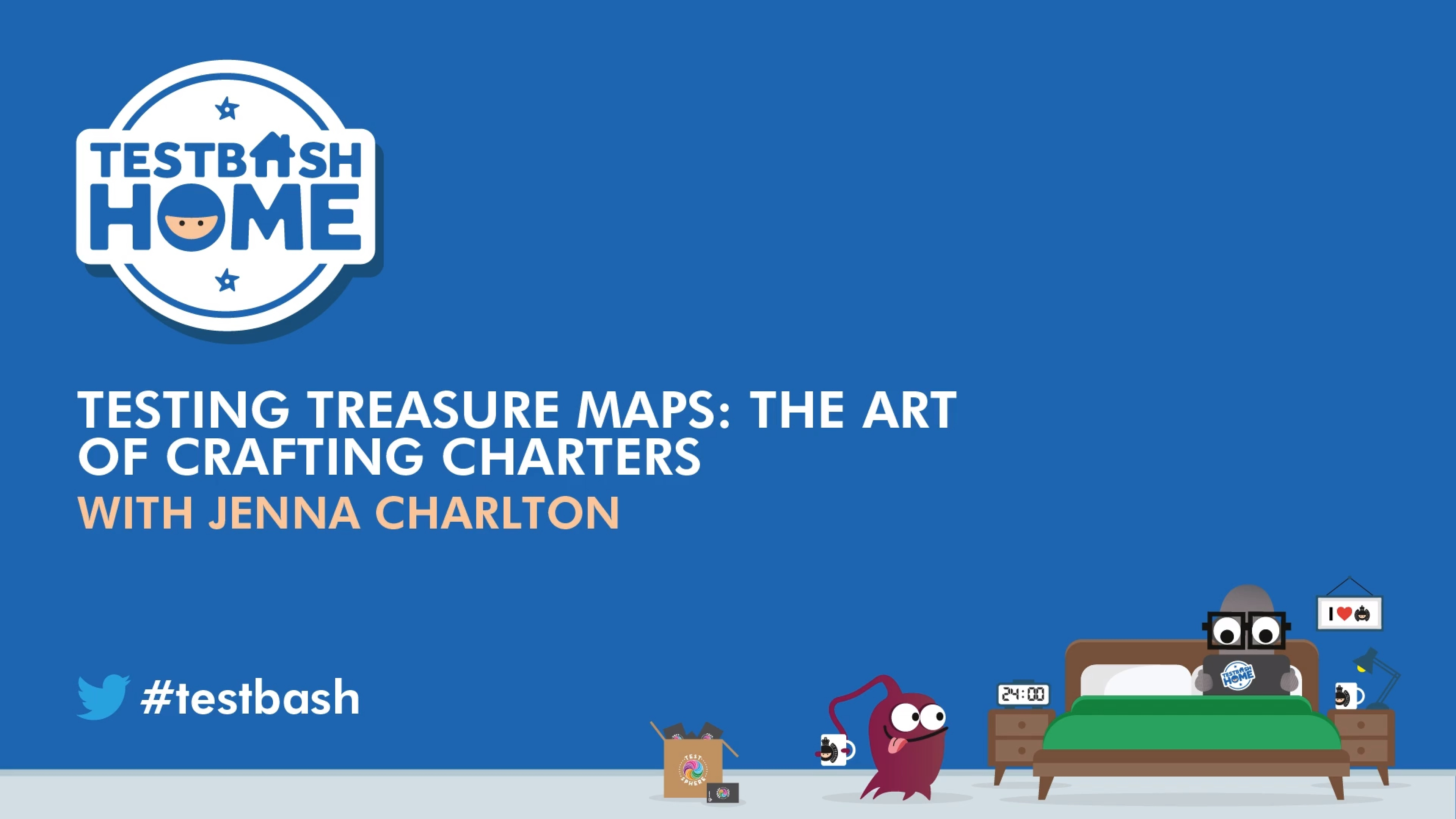 Testing Treasure Maps: The Art of Crafting Charters
