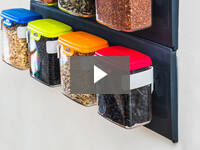 Video for Wall-Mounted Storage Containers