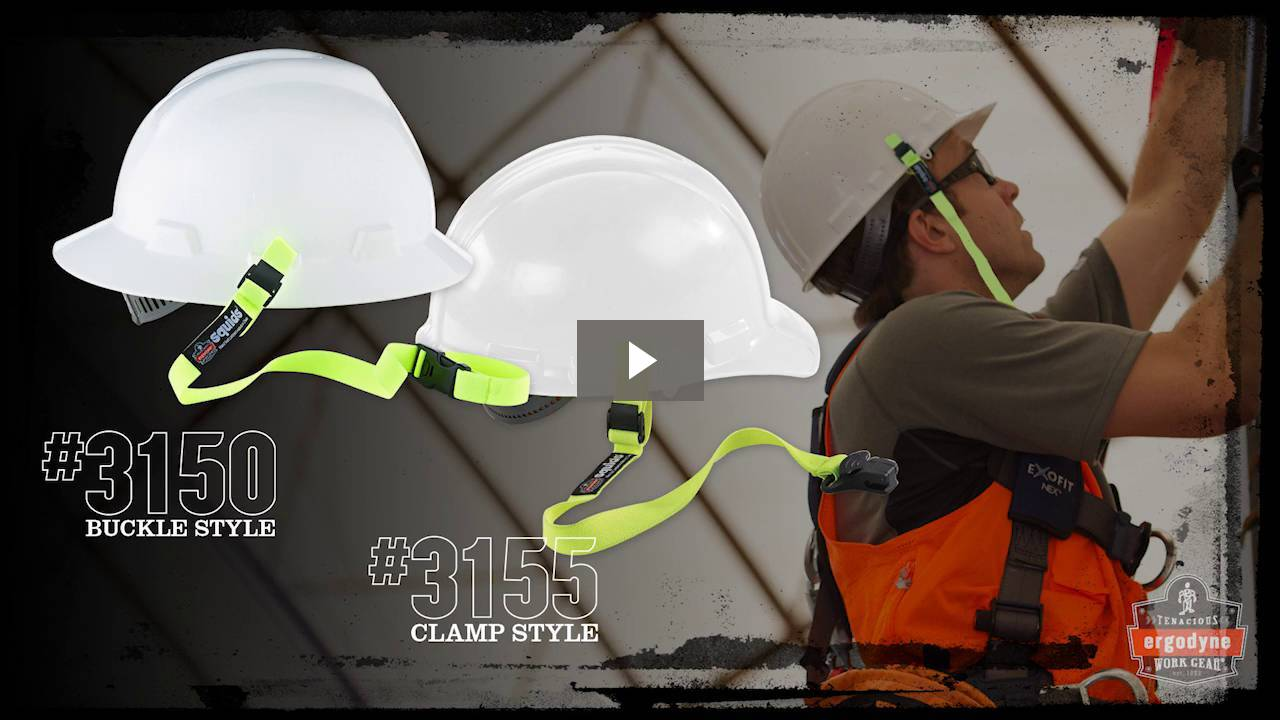 Ergodyne Product Video - Squids<sup>®</sup> 3155 Elastic Tool Lanyard with Clamp – 2lbs / 0.9kg