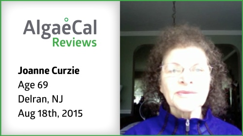 Testimonial thumbnail portrait of Joanne Curzie