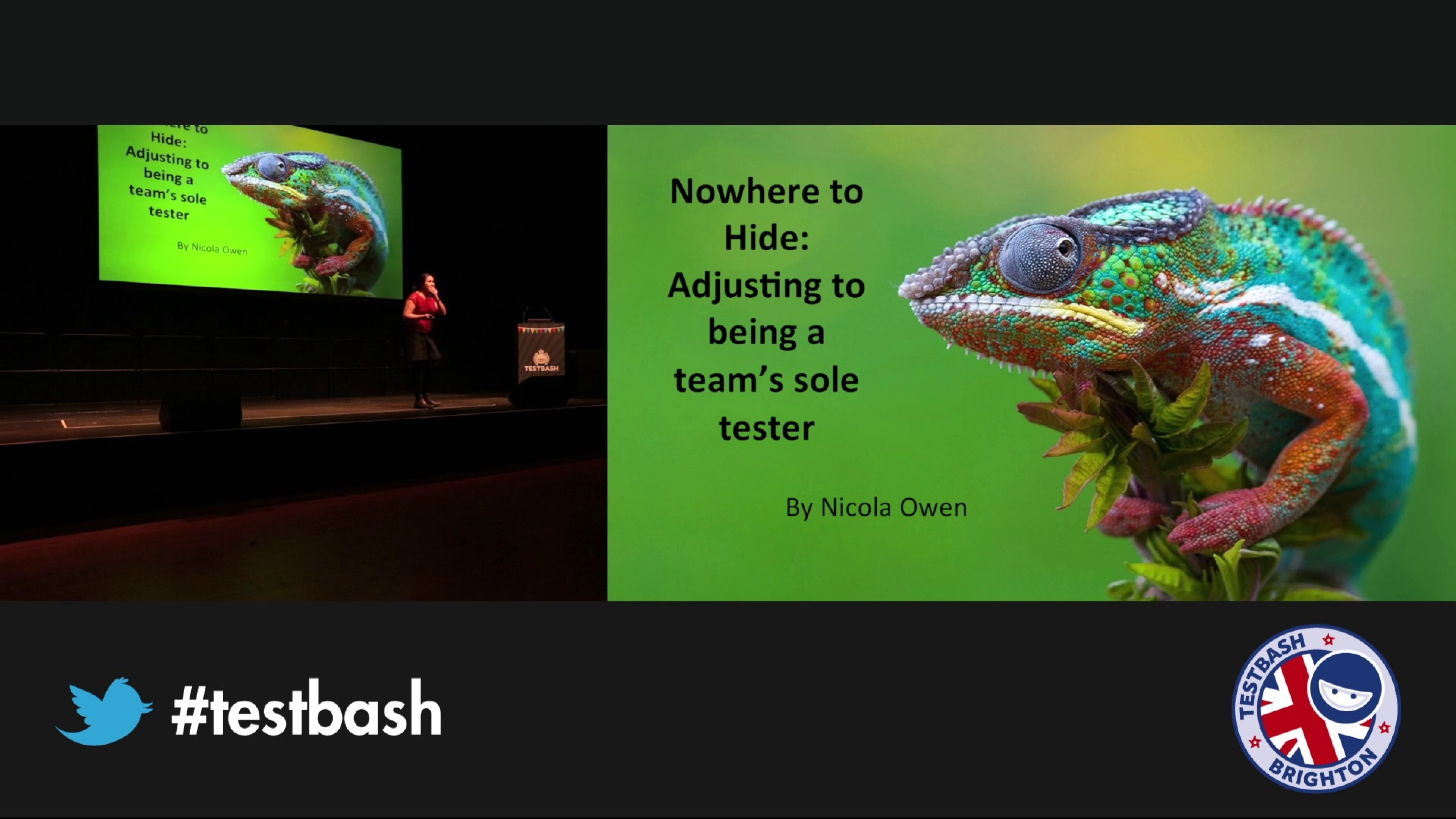 Nowhere to Hide: Adjusting to Being a Team's Sole Tester – Nicola Owen