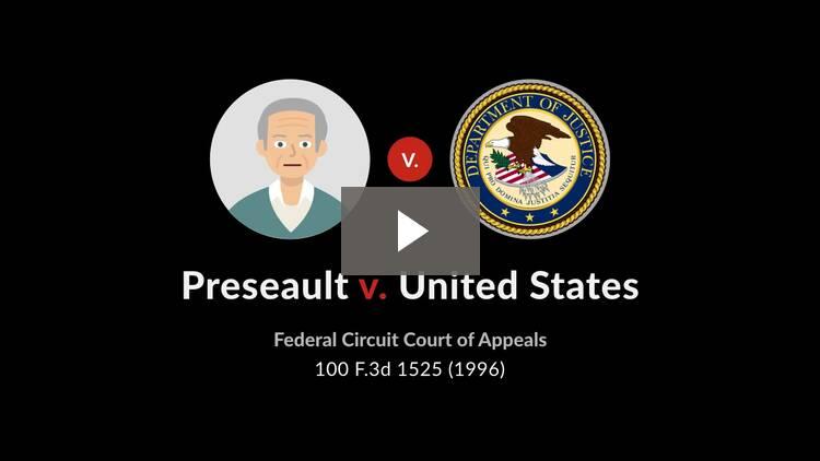 Preseault v. United States