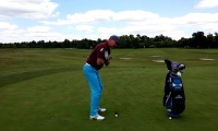 Flexibility Drill to Help With Full Swing Rotation