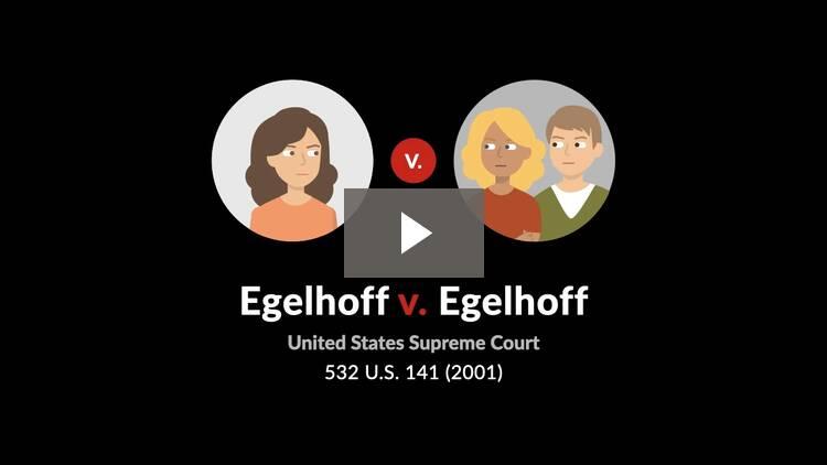 Egelhoff v. Egelhoff