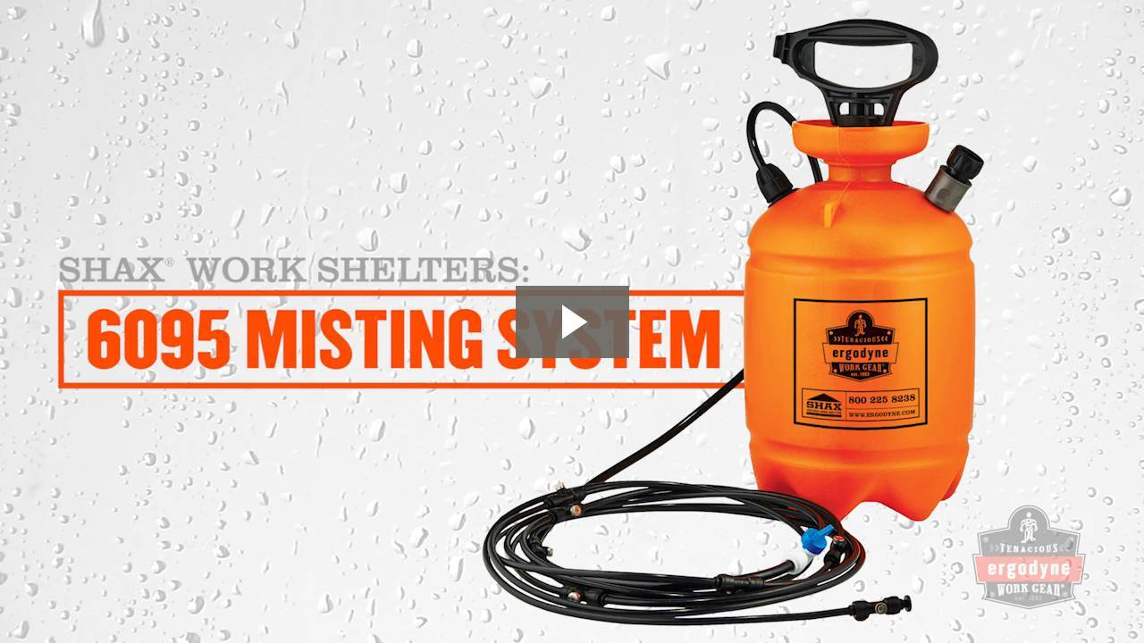 Ergodyne Product Video - SHAX<sup>®</sup> 6093N Misting System Tubing with Nozzles