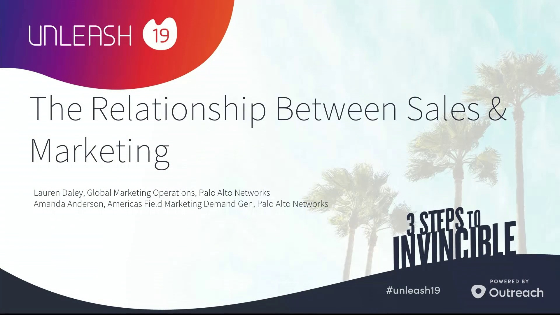 The Relationship Between Sales and Marketing - Lauren Daley, Amanda Anderson