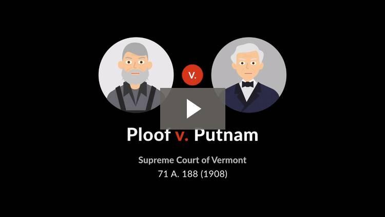 Ploof v. Putnam