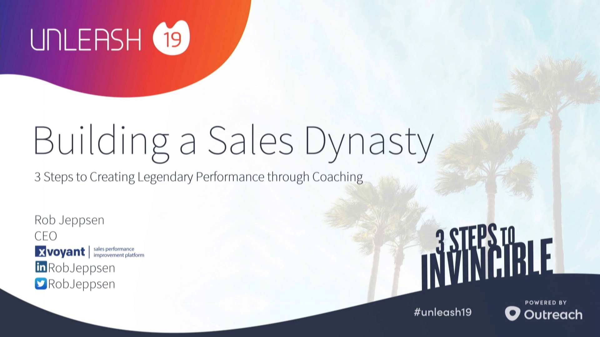 Building a Sales Dynasty Coaching a Winning Sales Team - Rob Jeppsen