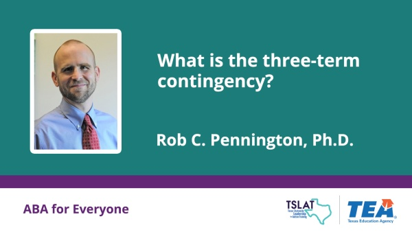 What is the three-term contingency?