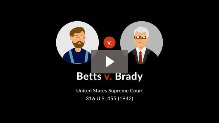 Betts v. Brady