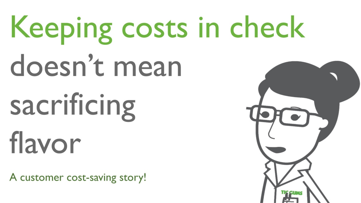 Keeping Costs in Check Doesn't Mean Sacrificing Flavor