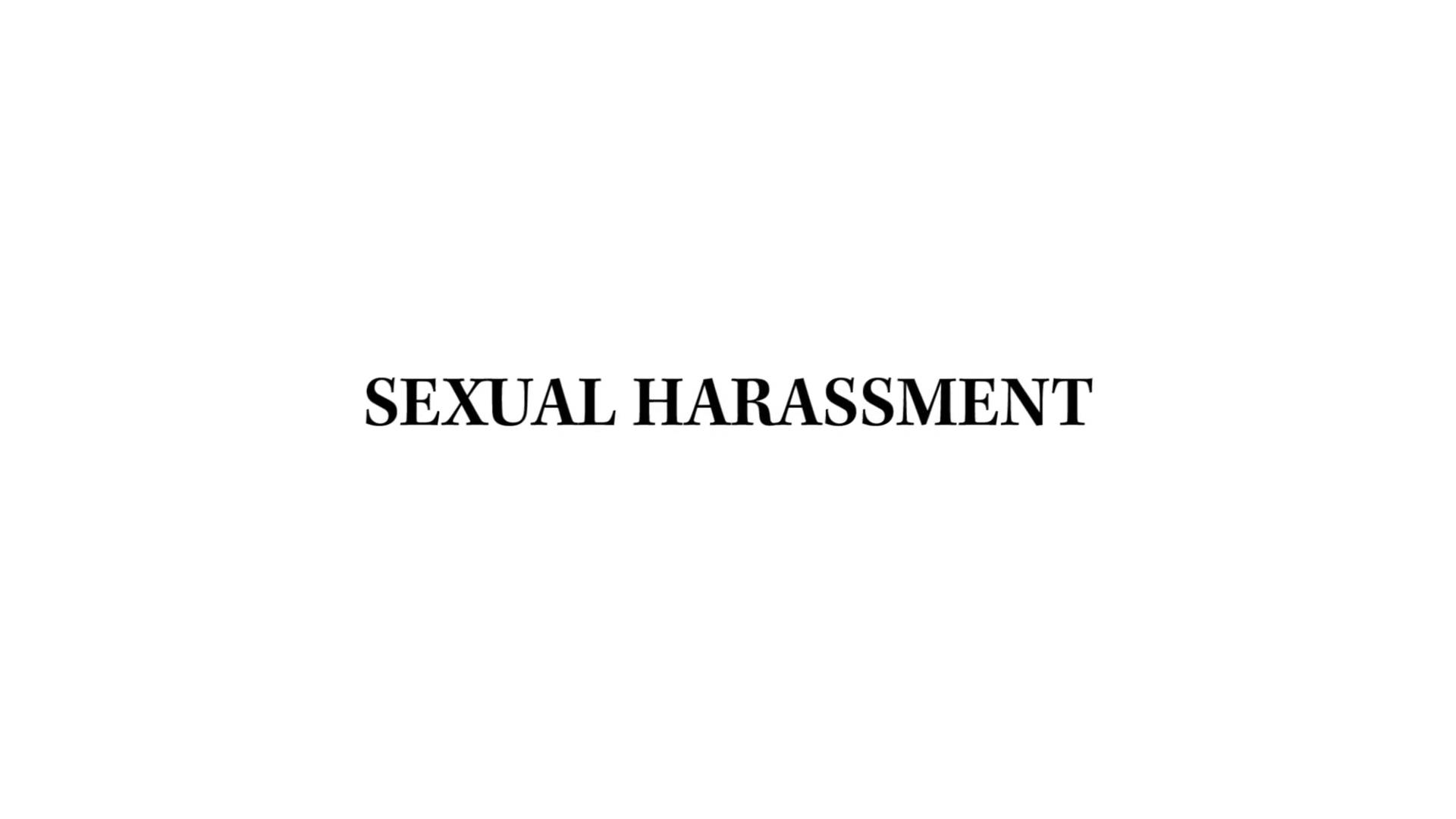 Sexual harassment california state law