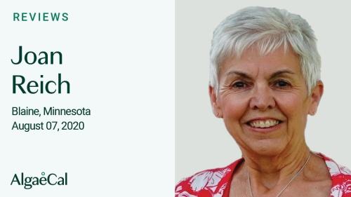 Testimonial thumbnail portrait of Joan Reich