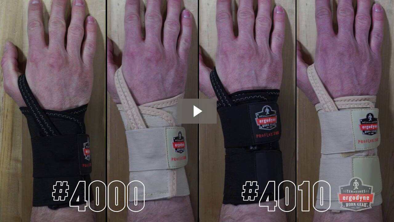 Ergodyne Product Video - ProFlex<sup>®</sup> 4010 Double Strap Wrist Support