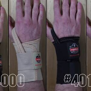 Ergodyne Product Video - ProFlex<sup>®</sup> 4000 Single Strap Wrist Support