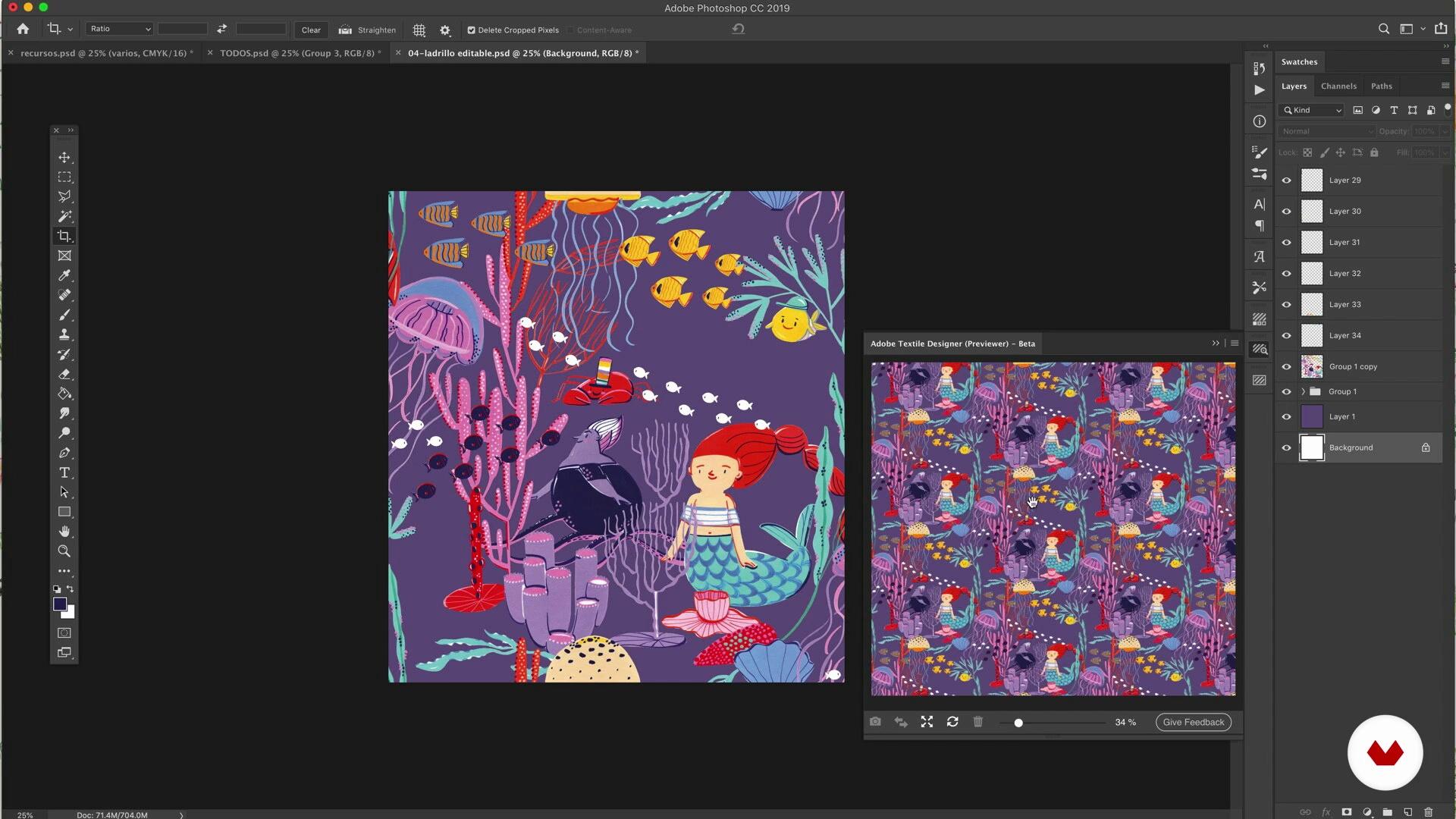 Repeat Using Textile Designer 2 Illustrated Pattern Design Anickanita Domestika